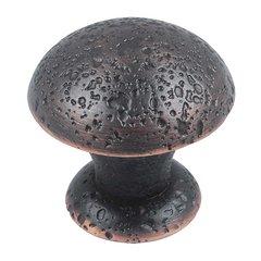 Olde World 1-3/8 Inch Diameter Venetian Bronze Cabinet Knob