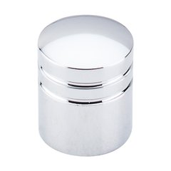 Nouveau II 1 Inch Diameter Polished Chrome Cabinet Knob <small>(#M583)</small>