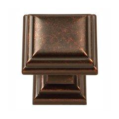 Somerset 1-1/8 Inch Diameter Dark Antique Copper Cabinet Knob <small>(#HH74554-DAC)</small>