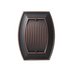 Allison Blank Wall Plate Oil Rubbed Bronze