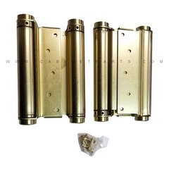 "3029-8 8"" Double Acting Mortise Spring Hinge - Satin Brass"