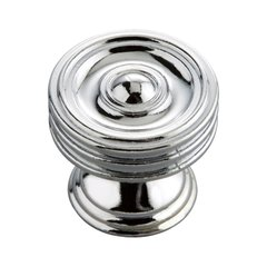 Williamsburg 1-1/4 Inch Diameter Chrome Cabinet Knob <small>(#P3131-CH)</small>