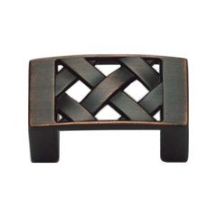 Lattice 1-1/4 Inch Center to Center Venetian Bronze Cabinet Pull