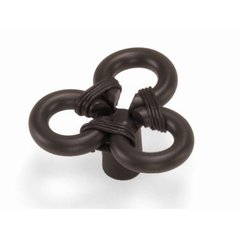 Nantucket 1-3/4 Inch Diameter Oil Rubbed Bronze Cabinet Knob <small>(#51566)</small>