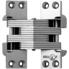 #420 Fire Rated Invisible Hinge Bright Stainless Steel