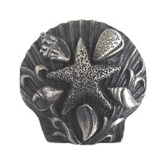 Tropical 1-5/16 Inch Diameter Antique Pewter Cabinet Knob