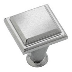 Manor 1 Inch Diameter Weathered Nickel Cabinet Knob <small>(#BP26131WN)</small>