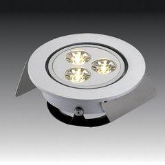 HO-LED Non Swivel Spot-Warm White <small>(#HOLED1/WW)</small>