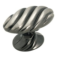 Expressions 1-1/2 Inch Diameter Pewter Cabinet Knob