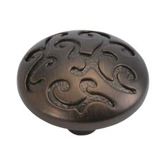 Mayfair 1-1/4 Inch Diameter Refined Bronze Cabinet Knob