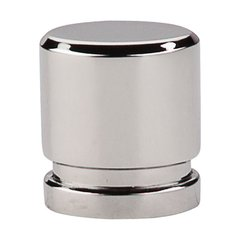 Sanctuary 1 Inch Length Polished Nickel Cabinet Knob <small>(#TK57PN)</small>