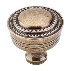 Tuscany 1-1/4 Inch Diameter German Bronze Cabinet Knob <small>(#M200)</small>