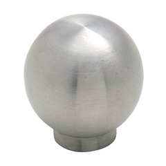 Stainless Steel 1-3/16 Inch Diameter Stainless Steel Cabinet Knob
