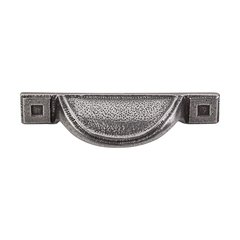 Britannia 2-1/2 Inch Center to Center Cast Iron Cabinet Cup Pull