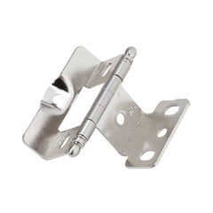 Full Inset Ball Tip Hinge Sterling Nickel - Sold Each <small>(#PK3175TBG9)</small>