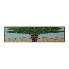 Tropical 3 Inch Center to Center Antique Brass Cabinet Pull <small>(#NHP-323-AB-B)</small>
