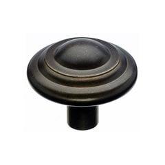 Aspen 1-3/4 Inch Diameter Medium Bronze Cabinet Knob <small>(#M1477)</small>