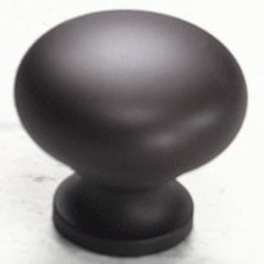 Country 1-1/4 Inch Diameter Oil Rubbed Bronze Cabinet Knob