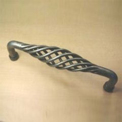 Saxon 10 Inch Center to Center Wrought Iron Appliance Pull