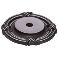 Versailles Forged Solid Brass 1-1/2 Inch Diameter Oil Rubbed Bronze Back-plate