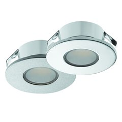 Hafele Loox 2022 12V LED Silver Spotlight Cool White 833.72.041