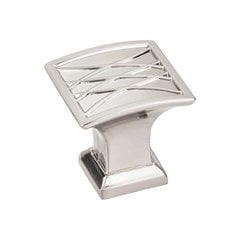 Aberdeen 1-1/4 Inch Diameter Satin Nickel Cabinet Knob <small>(#535SN)</small>
