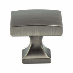 Century Edge Knob 1-3/8 inch Diameter Vintage Nickel <small>(#1205-1VTN-P)</small>