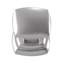 Euro-Contemporary 1-1/4 Inch Diameter Stainless Steel Finish Cabinet Knob <small>(#P3181-SS)</small>