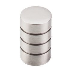 Nouveau II 5/8 Inch Diameter Brushed Satin Nickel Cabinet Knob <small>(#M576)</small>