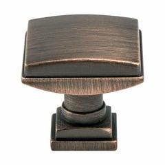 Tailored Traditional Knob 1-1/4 inch Diameter Verona Bronze <small>(#1273-10VB-P)</small>