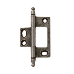 Elite Non-Mortised Butt Hinge 50X37mm - Pewter