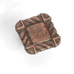 Galley 1-1/4 Inch Diameter Antique Copper Cabinet Knob