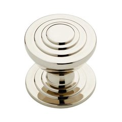 Julian 1-3/16 Inch Diameter Polished Nickel Cabinet Knob