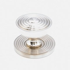 Sonata 1-1/8 Inch Diameter Polished Nickel Cabinet Knob