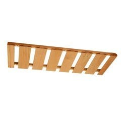 30X12 Maple Stemware Rack