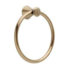 """Lahara 7-1/2"""" Dia Towel Ring Champagne Bronze"""