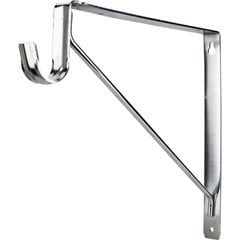 Shelf & Rod Support Bracket for 1516 Series Closet Rod - Chrome