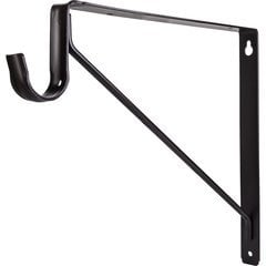 Shelf & Rod Support Bracket for 1516 Series Closet Rod - Dark Bronze