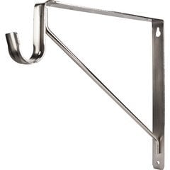Shelf & Rod Support Bracket for 1516 Series Closet Rod - Satin Nickel