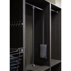 25-1/2 - 35 Inch Expanding Wardrobe Lift - Black Powder Coat