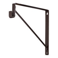 Shelf & Rod Support Bracket for 1530 Series Closet Rod - Dark Bronze