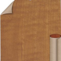 Grand Isle Maple Textured Finish 4 ft. x 8 ft. Vertical Grade Laminate Sheet
