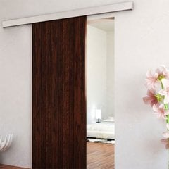 Contemporary Concealed Barn Door Hardware Set <small>(#2460402ALPVC)</small>