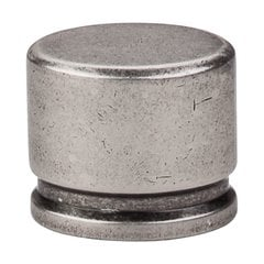 Sanctuary 1-3/8 Inch Length Pewter Antique Cabinet Knob <small>(#TK61PTA)</small>