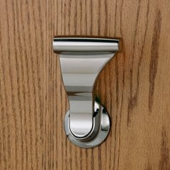 "Closet UltraLatch for 1-3/8"" Door Bright Nickel <small>(#LCLEX-14)</small>"