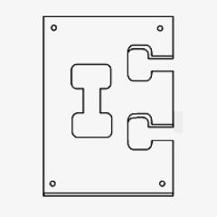 Flipbolt Template <small>(#FLIPBOLT JIG)</small>