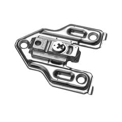 Clip Face Frame Mounting Plate 0mm