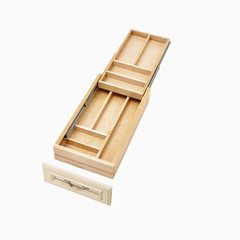 "4WTCD Soft Close Double Cutlery Drawer for 15"" Cabinet"