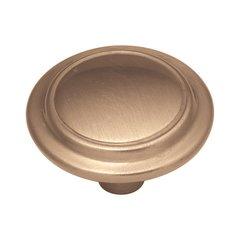 Eclipse 1-1/4 Inch Diameter Satin Bronze Cabinet Knob <small>(#P413-SBZ)</small>
