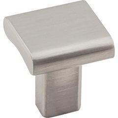 Park Knob 1 inch Diameter Satin Nickel